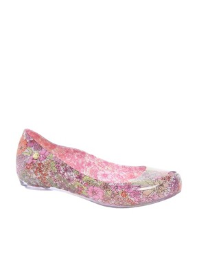 Image 1 ofMelissa Ultragirl Liberty Ballet Flats