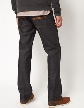 Image 2 ofNudie Jeans Organic Slim Jim Straight Fit