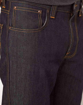Image 3 ofNudie Jeans Organic Slim Jim Straight Fit