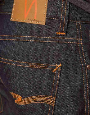 Image 4 ofNudie Jeans Organic Slim Jim Straight Fit