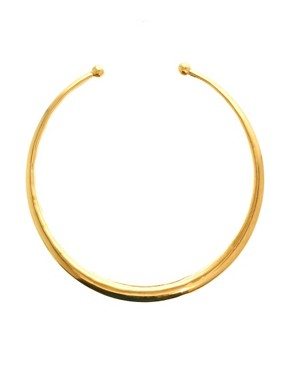 Image 1 ofKasturjewels 22kt Gold Plated Choker Necklace