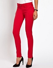 Mango Red Skinny Jean