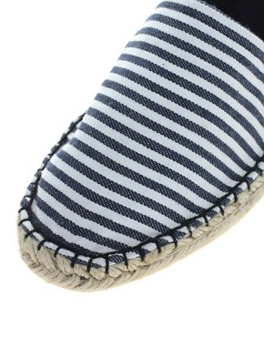 Image 2 ofASOS MARLEY Basic Stripe Espadrille