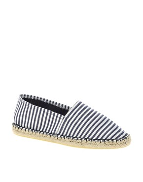 Image 1 ofASOS MARLEY Basic Stripe Espadrille