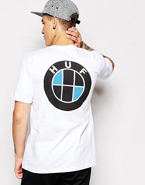 Huf T-Shirt With Back Print