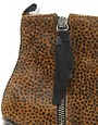 Image 2 ofOpening Ceremony Shirley Leopard Pony Heeled Ankle Boots