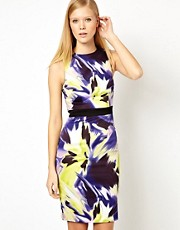 Karen Millen Dress in Modern Ethnic Print