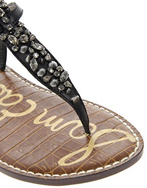 Image 2 ofSam Edelman Gwyneth Jewelled Flat Sandals