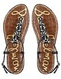 Image 3 ofSam Edelman Gwyneth Jewelled Flat Sandals
