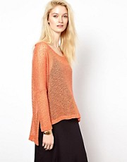 LNA Reyes Cape Sweater