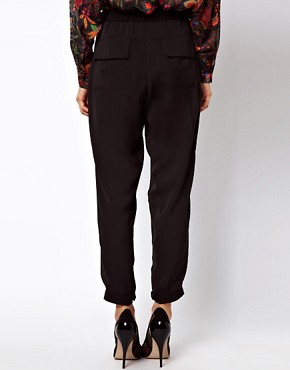 Image 2 ofASOS Luxe Tapered Trousers