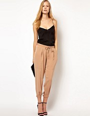 ASOS Luxe Tapered Trousers