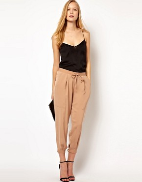 Image 1 ofASOS Luxe Tapered Trousers