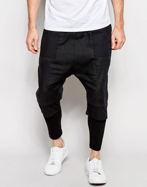 ASOS Meggings With Layered Shorts