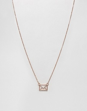 Ted Baker Love Letter Pendant Necklace