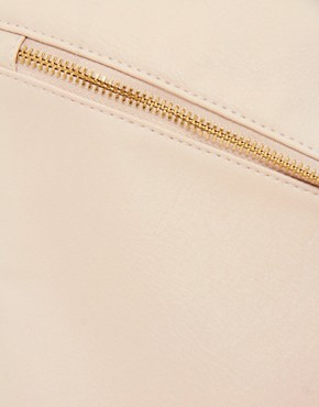 Image 2 ofASOS Clutch Bag With Double Tassel Zip