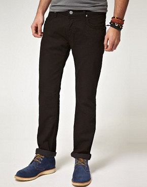Image 1 ofLee Powell clean wash Slim Jeans