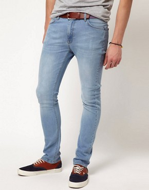 Image 1 ofASOS Super Skinny Blue Jean