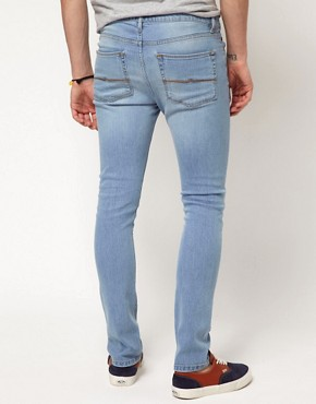 Bild 2 von ASOS  Besonders enge, blaue Jeans