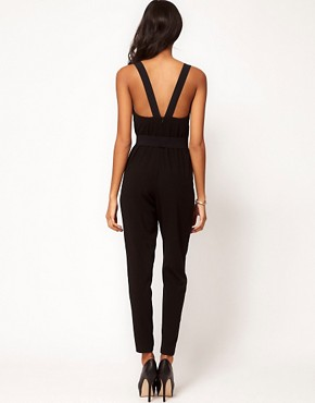 Image 2 ofASOS Jumpsuit with V Front and Back