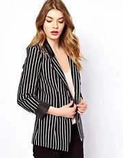 Oasis Stripe Blazer