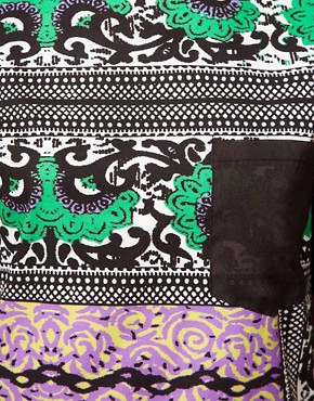 Image 3 ofASOS AFRICA Tunic In Mombasa Print