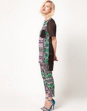 Image 4 ofASOS AFRICA Tunic In Mombasa Print