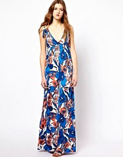 French Connection Tahiti Floral Maxi Dress