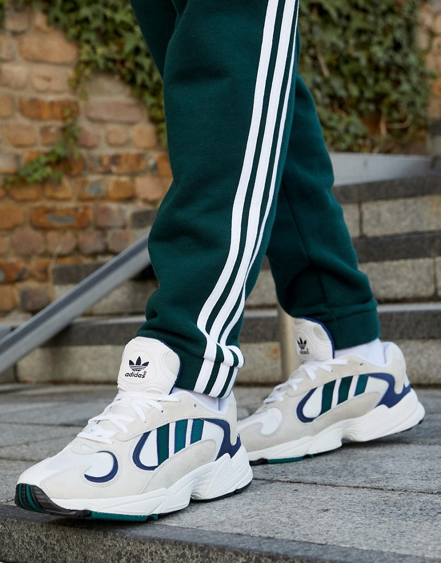 adidas Originals - Yung 1 - Sneakers in wit - Wit