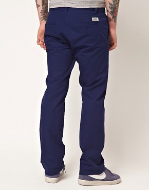 Image 2 of WESC Eddy Slim Fit Chinos Exclusive To Asos