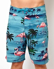 Vans Flamingo Boardshort 21&quot;