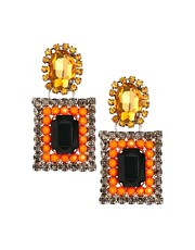ASOS Square Drop Earrings