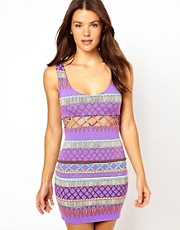 Mara Hoffman Frida Lattice Beach Dress