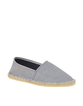 Image 1 of ASOS Striped Espadrilles