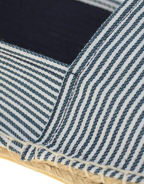 Image 2 of ASOS Striped Espadrilles