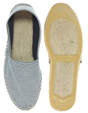 Image 3 of ASOS Striped Espadrilles