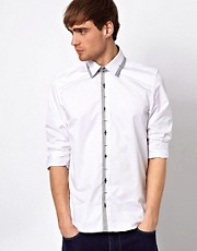 Guide London Shirt Dogtooth Collar