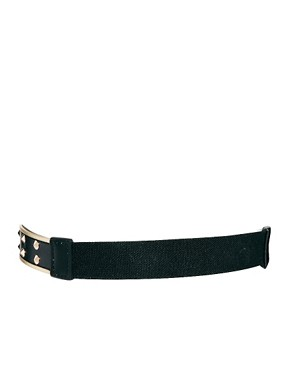 Image 3 ofASOS CURVE Buckle And Stud Detail Waist Belt