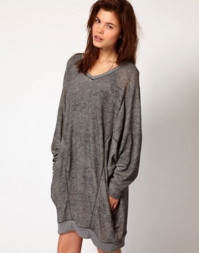 Image 1 ofDiesel Oversized Sweat Dress