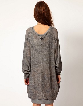 Image 2 ofDiesel Oversized Sweat Dress