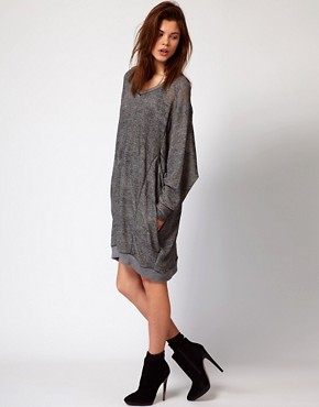 Image 4 ofDiesel Oversized Sweat Dress
