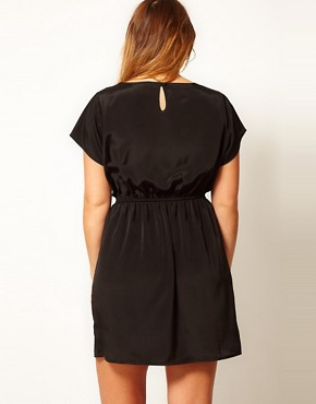 Image 2 ofASOS CURVE Exclusive Skater Dress With Baroque Print