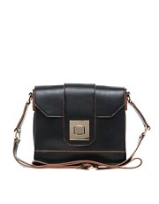Oasis Square Lock Crossbody Bag