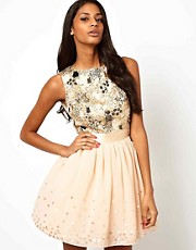 Little Mistress Jewelled Bodice Prom Dress