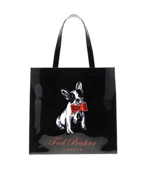 Image 1 ofTed Baker Cottcon Dog Ikon Bag