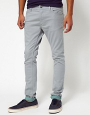 55DSL - Pyrons 5PKT - Jeans skinny in twill elasticizzato
