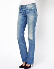 Diesel Faithlegg Destroy Wash Boyfriend Jean
