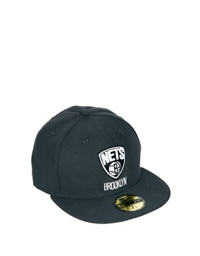 Image 1 ofNew Era 59Fifty Cap Brooklyn Nets