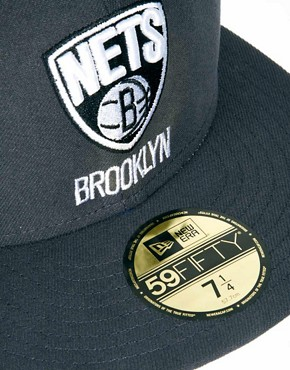 Image 2 ofNew Era 59Fifty Cap Brooklyn Nets