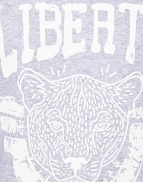 Image 3 ofRiver Island Liberty Print Sweat